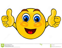 Smile Emoticons Thumbs Up Stock Illustration Of Icon