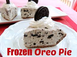 Pumpkin Chiffon Pie With Cool Whip by Frozen Oreo Pie Milk White Chocolate Pudding Mix Oreos And