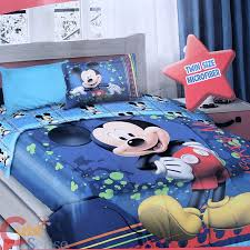 mickey mouse bedroom set new mickey mouse bedding set pc queen