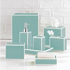 Teal Color Bathroom Decor by Bathroom Accessories Nyc Interior Design