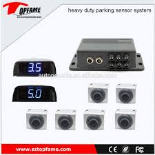 100 Heavy Duty Truck Parking Ps5005 6s Big Led Display Sensor System For Buslorry