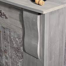 kamin attrappe shabby grau holz deko kamin kaminumrandung