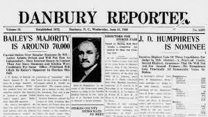 Danbury Reporter Masthead 1930 06 11