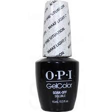 OPI Gel Color Make Light The Situation By OPI Gel Color GCT68