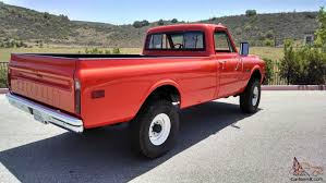 1970 Chevrolet K20 C20 Pickup Truck Fire 4X4