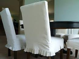 Slip Covered Dining Room Chairs White Parson Chair Slipcovers Images Slipcover Diy For Without Arms