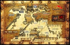 Halloween Haunt Worlds Of Fun Map by Dire World Scare Park A Terrifingly Twisted Haunted Theme Park