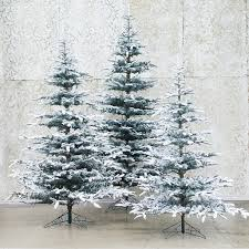 10 Noble Fir Artificial Christmas Tree by Snowy Faux Noble Fir Terrain