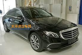 mercedes e class range 2017 mercedes e class gains lwb version in china