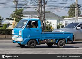 Private Mini Truck Of Daihatsu Hijet – Stock Editorial Photo ...