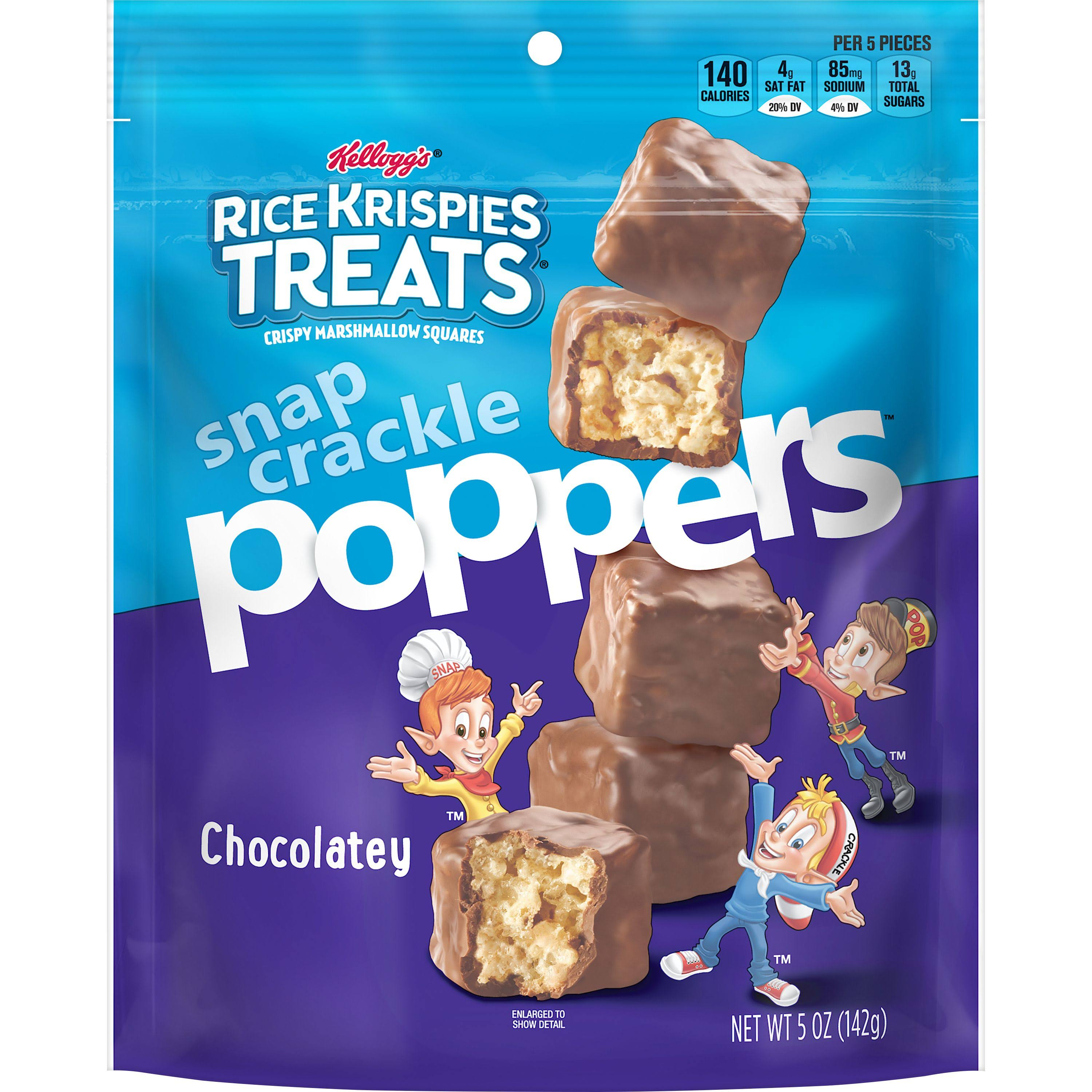 Rice Krispies Treats Snap Crackle Poppers, Chocolatey, 5 oz | CVS