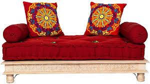 orientalisches sofa fadilla 120cm groß 2 sitzer marokkanische couchgarnitur für wohnzimmer inklusive sofakissen arabische sitzecke