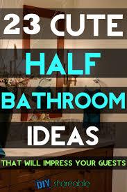 Beach Themed Bathroom Decor Diy by Best 25 Half Bath Decor Ideas On Pinterest Half Bathroom Decor
