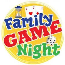 Family Game Night Clip Art School