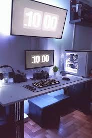 20 coolsten jungen schlafzimmer ideen mit computer gaming