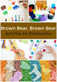Brown Bear Activities For Preschoolers