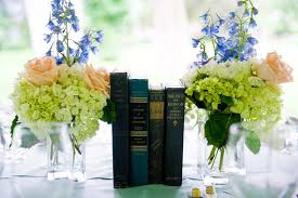 Centerpieces With Books