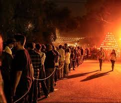 Scariest Halloween Attractions In California by The One Haunted Hayride In Southern California That Will Terrify