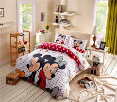 Queen Size Minnie Mouse Bedding by Online Get Cheap Mickey Mouse Comforter Sets Aliexpress Com
