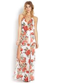 red floral maxi dress and fashion week collections u2013 fashion gossip