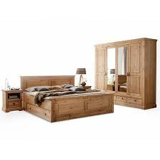 palermo komplett schlafzimmer material massivholz kiefer eichefarbig gebeizt