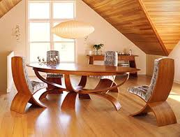 Wooden Round Dining Table Natural Wood And Chairs Gumtree