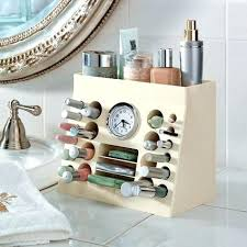 Bathroom Counter Makeup Organizer Cosmetic Storage Solutions You