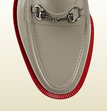 Gucci Rubber Horse Bit Loafer