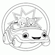 Umizoomi Free To Color For Kids Umizoomi Kids Coloring Pages