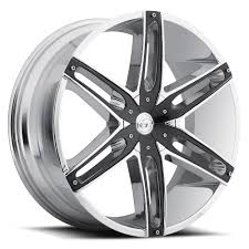 100 Black And Chrome Truck Sales Wheel Collection VCT Wheels