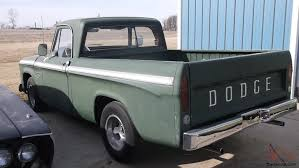 100 67 Dodge Truck 19 DODGE 100 PICK UP TRUCK 318 2 BARRELL ENGINE ALL ORIGINAL 31000