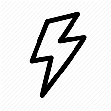 Bolt Electric Flash Lightning Science Volt Icon