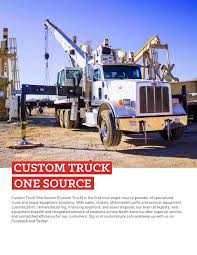 100 Custom Truck And Equipment One Source Oilfield Look Book V1 Pages 1 36 Text