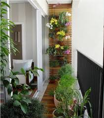 Wooden Floors And Walls Work Best With Your Potted Plants Flowers