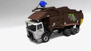 Florida Refuse Garbage Truck - Application Wiring Diagram •