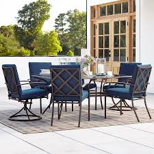 7 Piece Patio Dining Set With Umbrella by Outdoor Restaurant Furniture Simplylushliving