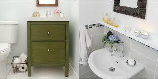 Pedestal Sink Organizer Ikea by 11 Ikea Bathroom Hacks New Uses For Ikea Items In The Bathroom