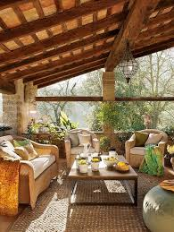 Rustic Patio Room Decor