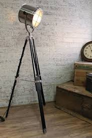 Modern Industrial Floor Lamp Captivating Style