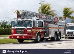 City Of Marathon Fire Engine Ladder Truck Emergency Services Florida ...