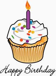 Drawn birthday birthday cupcake 13