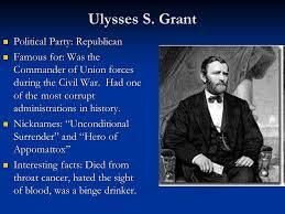 Fact Fun Grant S Ulysses