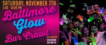 Fells Point Halloween Bar Crawl 2017 by Glow Crawl Baltimore Social