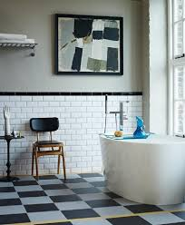 carrelage salle de bain metro salle de bain rétro carrelage meubles et déco en 55 photos
