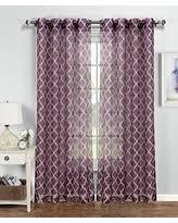 Plum curtain panels Sales & Deals