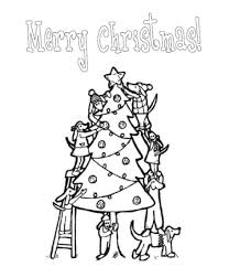 Christmas Tree Coloring Books by Christmas Tree Coloring Pages For Kids Christmas Coloring Pages