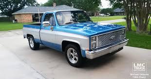 100 84 Chevy Truck Parts LMC On Twitter Michael Delaunes 19 C10 Silverado
