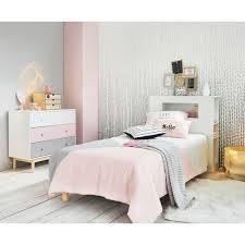 vintage kommode 3 schubladen weiß rosa grau maisons du monde