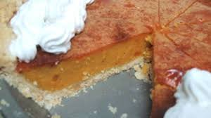 Pumpkin Pie Without Crust And Sugar by No Sugar No Fat No Cholesterol Pumpkin Pie Recipe Genius Kitchen