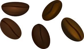 Single Clipart Coffee Bean 7